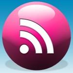Social Icons - Glossy Balls 01 (Pink)